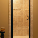 Semi-Frameless Door